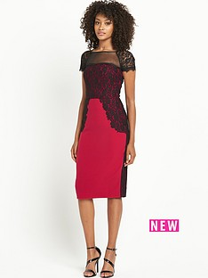 definitions-lace-panel-dress