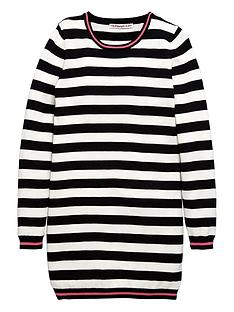 freespirit-girls-stripe-knitted-dress