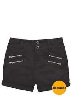 freespirit-girls-high-waistednbspdenim-shorts-with-zips