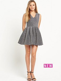 superdry-sculpted-glitter-dress