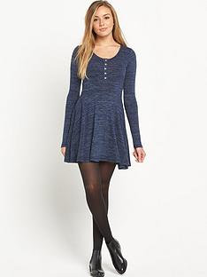 superdry-essential-twist-yarn-skater-dress