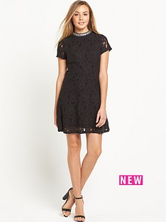 superdry-eastern-lace-collar-band-dress