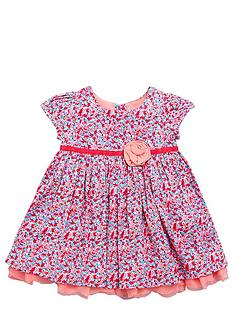 ladybird-baby-girls-floral-corsage-dress