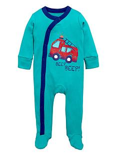 ladybird-baby-boys-fire-engine-sleepsuitsnbsp3-pack