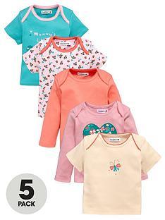 ladybird-baby-girls-t-shirts-5-pack