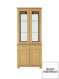 consort-consort-belvoir-ready-assembled-2-door-glass-display-unit