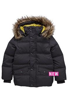 name-it-fauxampnbspfur-hooded-jacket-grey