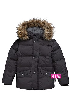 name-it-boys-fauxnbspfur-hooded-padded-jacket