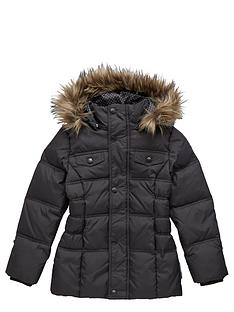 name-it-girls-fauxnbspfur-hooded-down-filled-coat