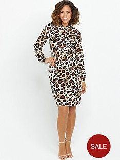myleene-klass-printed-shirt-dress