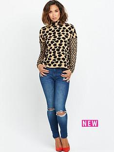 myleene-klass-heart-leopard-high-neck-jumper
