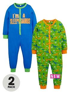 ladybird-ladybird-boys-dino-sleepsuits-2-pack