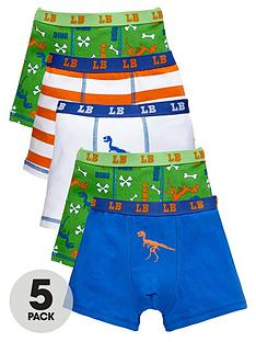 ladybird-boys-dino-trunks-5-pack