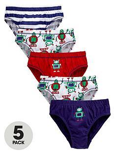 ladybird-boys-robot-briefs-5-pack