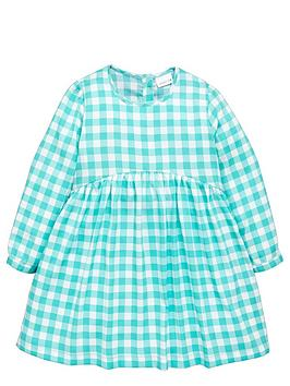 Ladybird Girls Gingham Print Dress - 12 months - 7 years