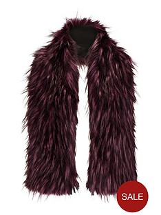 tipped-faux-fur-collarnbsp