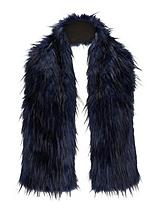 Oversized Faux Fur Collar