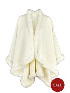 premium-cape-with-faux-fur-trimnbsp