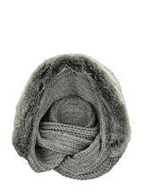 Faux Fur Hooded Snood