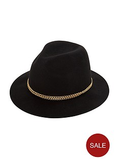 chain-trim-trilby-hat