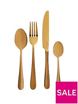 viners-gold-titanium-16-piece-cutlery-set