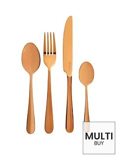 viners-rose-gold-titanium-16-piece-cutlery-set