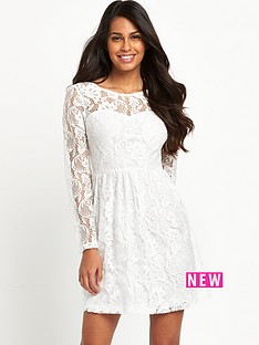 south-jersey-lace-bell-sleeve-dress