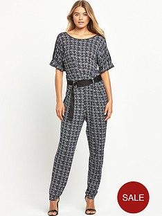 south-petite-printed-casual-d-ring-jumpsuitnbsp