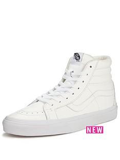 vans-sk8-hi-reissue-leather-mono-white