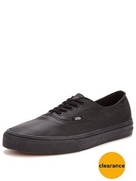 vans-authentic-decon-leather-trainers-black
