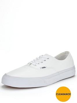 vans-authentic-decon-leather-mono-trainers-white