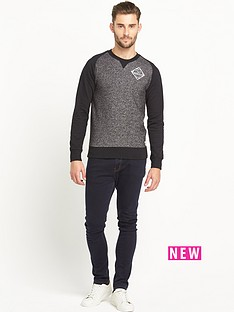 goodsouls-raglan-logo-print-sweatshirt-black-pepper-black
