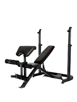Marcy Eclipse Be3000 Weight Bench And Adjustable Squat Stand