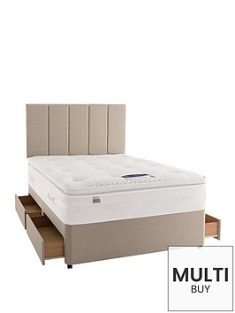 silentnight-mirapocket-jasmine-2000-geltexnbspdivan-with-optional-storage-and-half-price-headboard-offer-buy-and-save