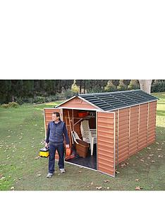 palram 6 x 12ft skylight shed