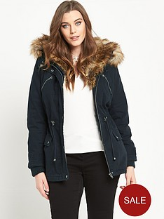 so-fabulous-cotton-twill-faux-fur-shawl-collar-parka