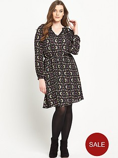 so-fabulous-print-lace-insert-long-sleeved-dress