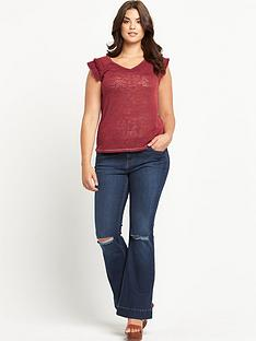so-fabulous-tassel-trim-sleeve-t-shirt