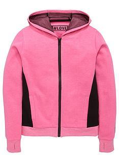 freespirit-girls-fashion-basics-neon-zip-through-hoodie