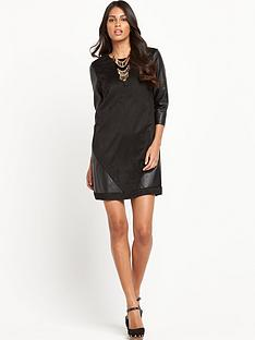 vero-moda-faux-leather-dress