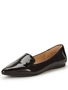 oasis-oasis-patent-studded-flat