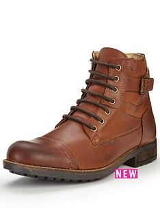 joe-browns-joe-browns-waxed-leather-army-boots