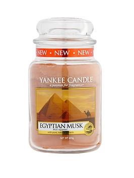 Yankee Candle Classic Large Jar - Egyptian Musk | very.co.uk