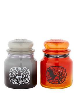 yankee-candle-yankee-candle-set-of-2-medium-halloween-classic-jars