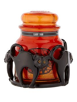 yankee-candle-cat-jar-holder-with-1-x-classic-medium-jar-candy-corn