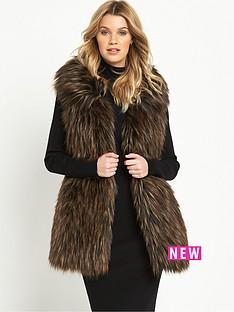 v-by-very-longline-faux-fur-gilet