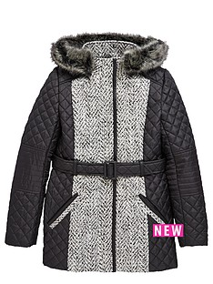 freespirit-girls-belted-quilted-coat-with-pu-trims