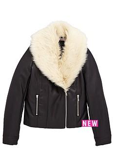 freespirit-girls-pu-biker-jacket-with-fauxampnbspfur-collar