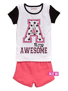 freespirit-girls-awesome-print-pyjamas-set-6-piece