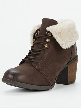 Hush Puppies Hush Puppies Goldie Moorland Turn Down Ankle Boot